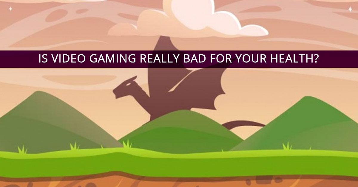 Video games disadvantages