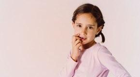 nail biting habit