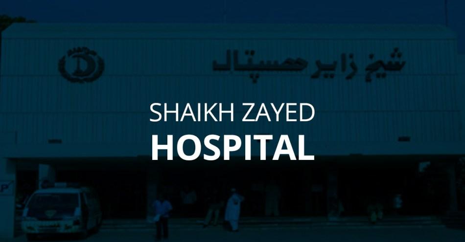 Shaikh Zayed Hospital