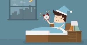 sleep deprived