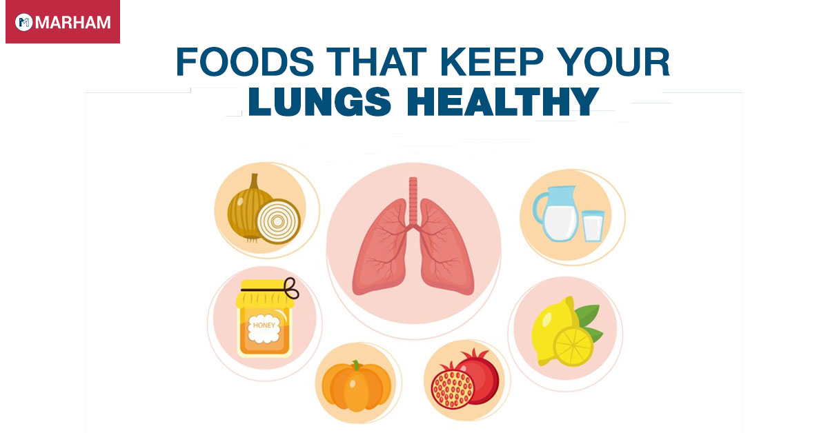 Foods that Keep Your Lungs Healthy