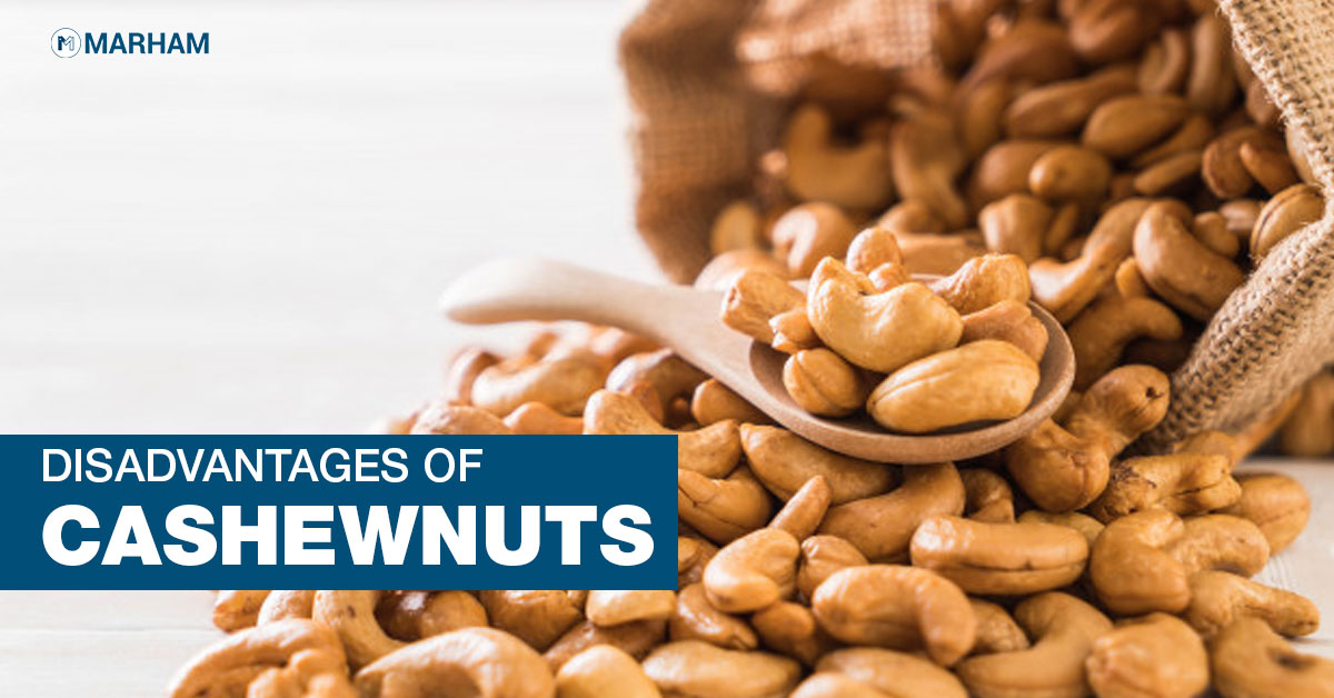 disadvantages of cashew nutss