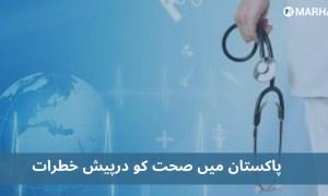 پاکستان صحت کے حوالے سے کن پانچ بڑے خطرات سے دوچار ہے