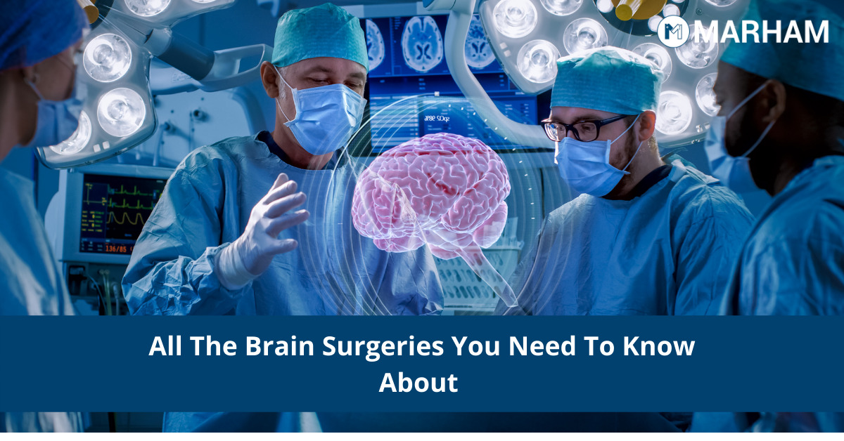 different types of brain surgery