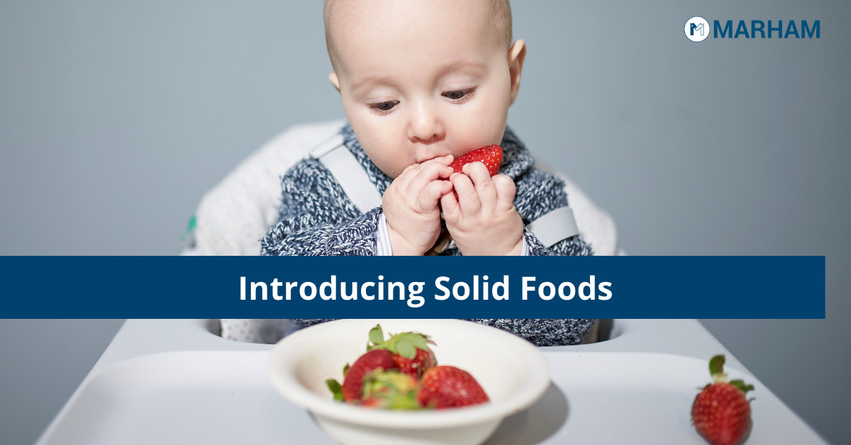 Introduce solid foods