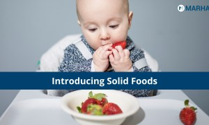 The Right Way To Introduce Solid Foods To Your Child