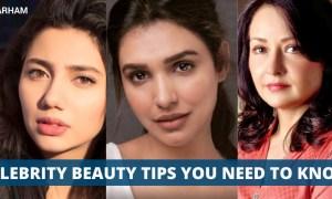 Pakistani Celebrity Beauty Tips