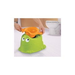 Frog Potty Chair Gaming Cheap Fisher Price Custom Comfort Froggy Mari Kali Babies