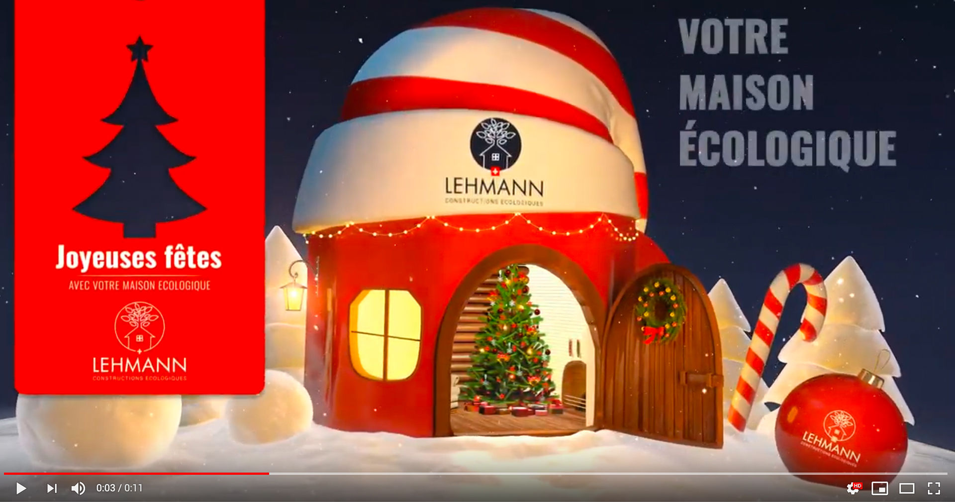 Vidéo Marketing – Vœux de Noël