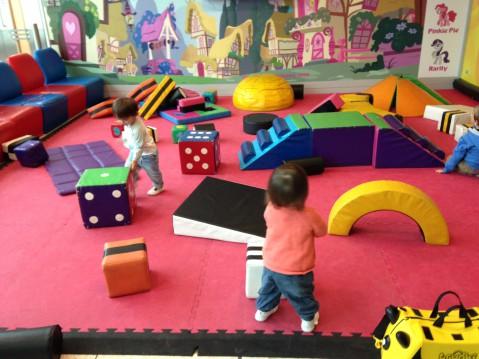 Soft play at Gatwick