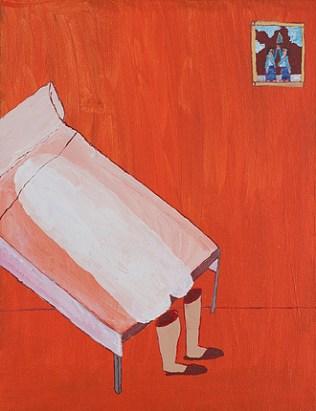 Acrylic on canvas. 35x27cms 2012
