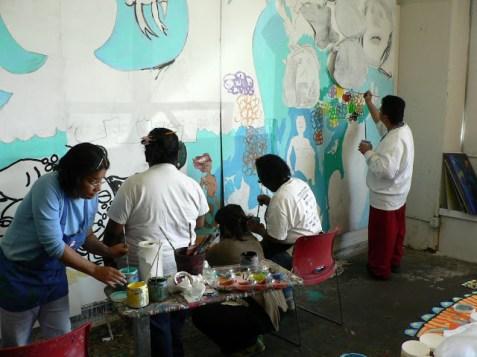 Mural processus XVI