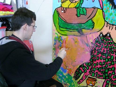 Mural processus VII