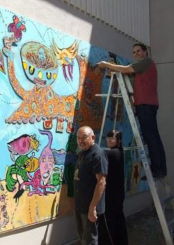 Mural processus XV
