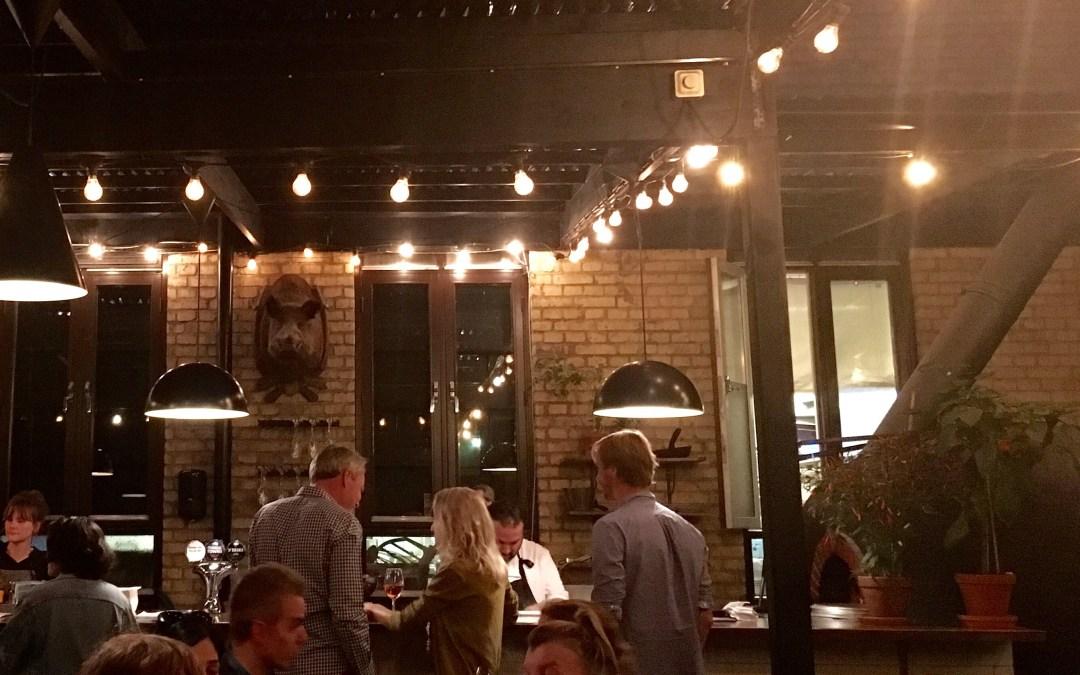 Middag på Restaurang Bastard i Malmö