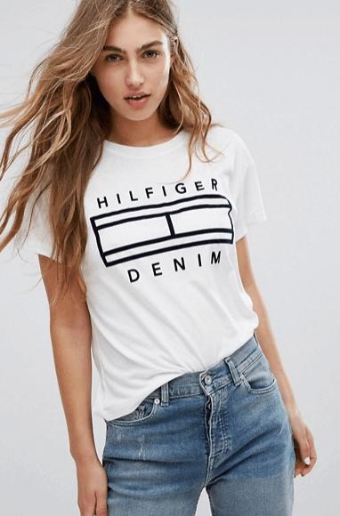 Logo T-shirt Tommy Hilfiger