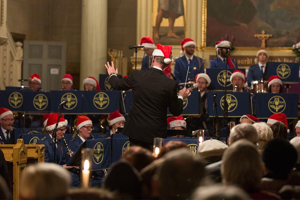 Julkonsert i Malmö med Spårvägens Musikkår 16 december