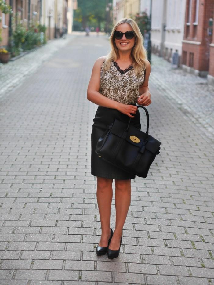 leoparmönstrat linne styling