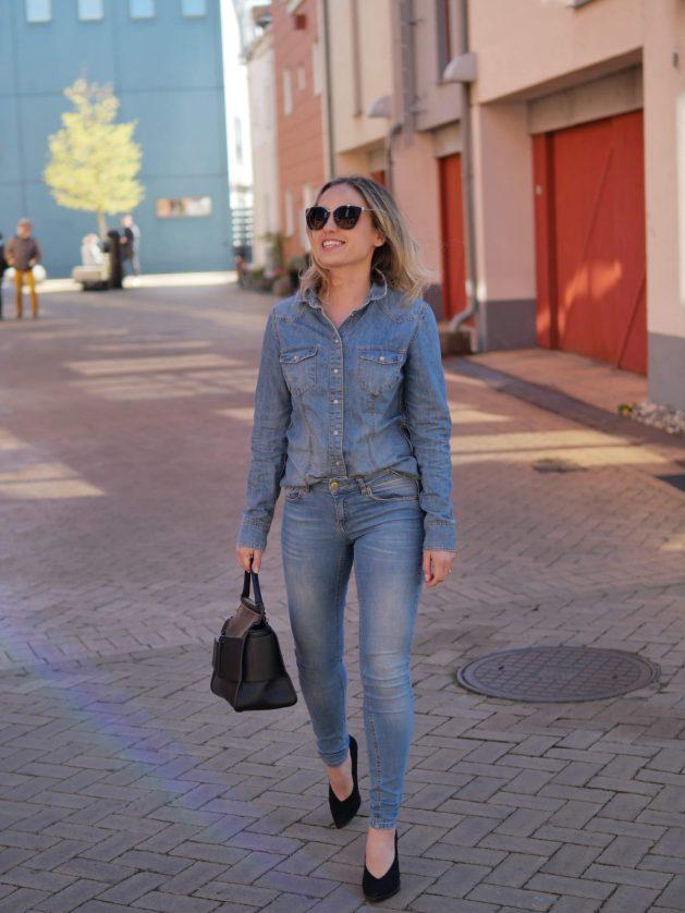 Jeans på Jeans outfit