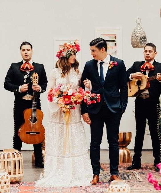What are Mariachi bands and what do they do?