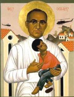 Immagine sacra di Monsignor Romero (www.mariadinazareth.it)