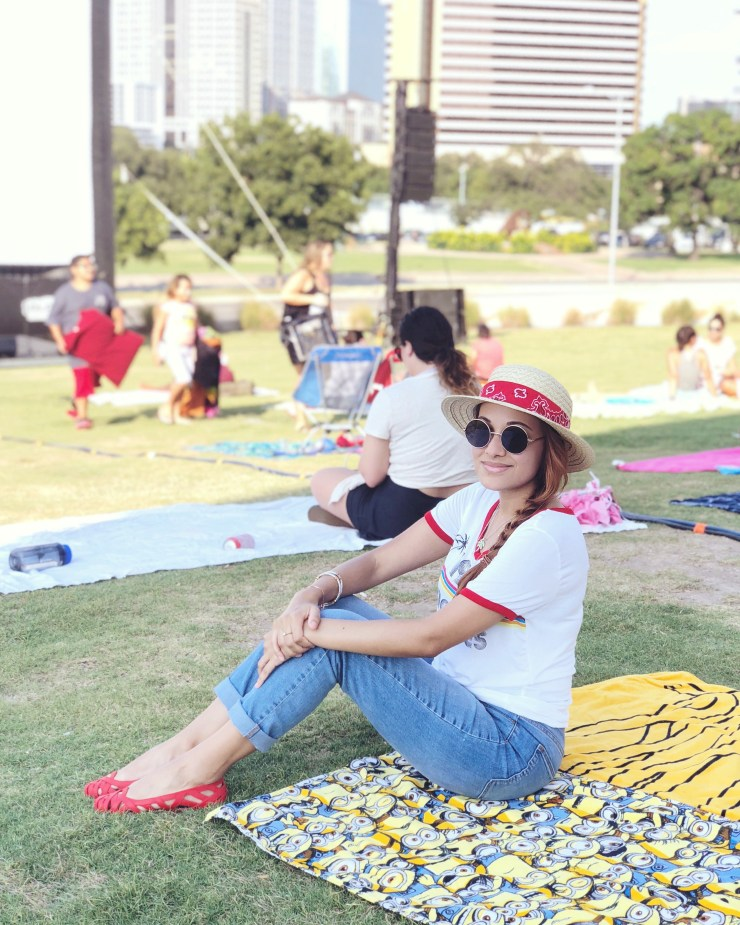 Cinema no parque_Austin_Texas