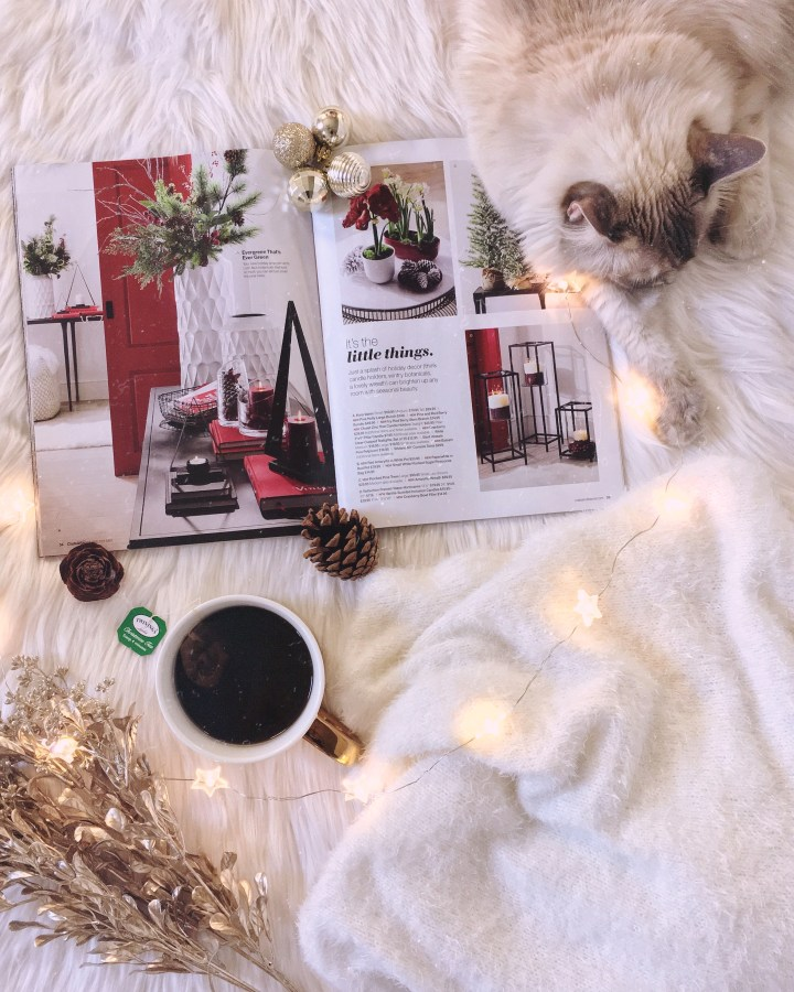 Flat lay de natal_Loja Crate and Barrel