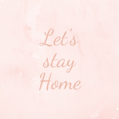 Wallpaper_Let's stay Home
