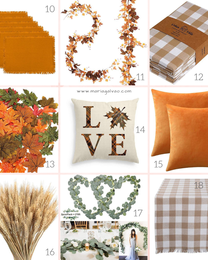 home decor shopping list for fall_part 2