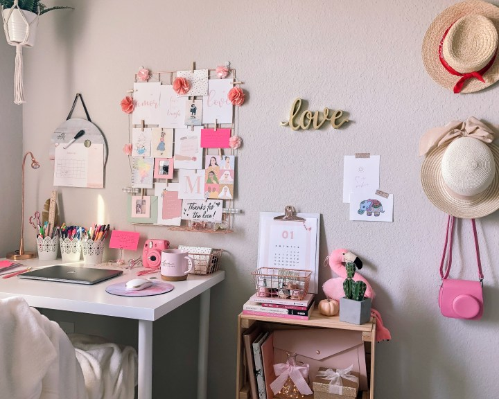 home office mood board and lovely images for free download