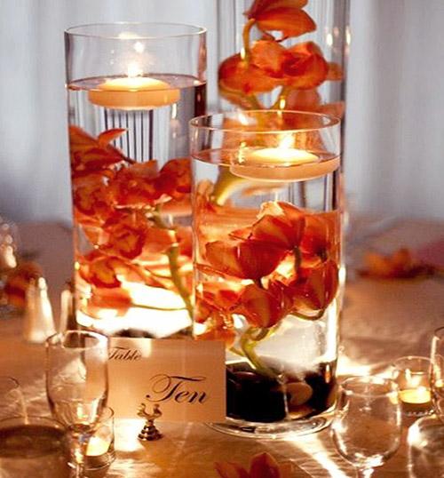 le vase en verre geant deco droit