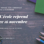 Courrier aux parents - Novembre