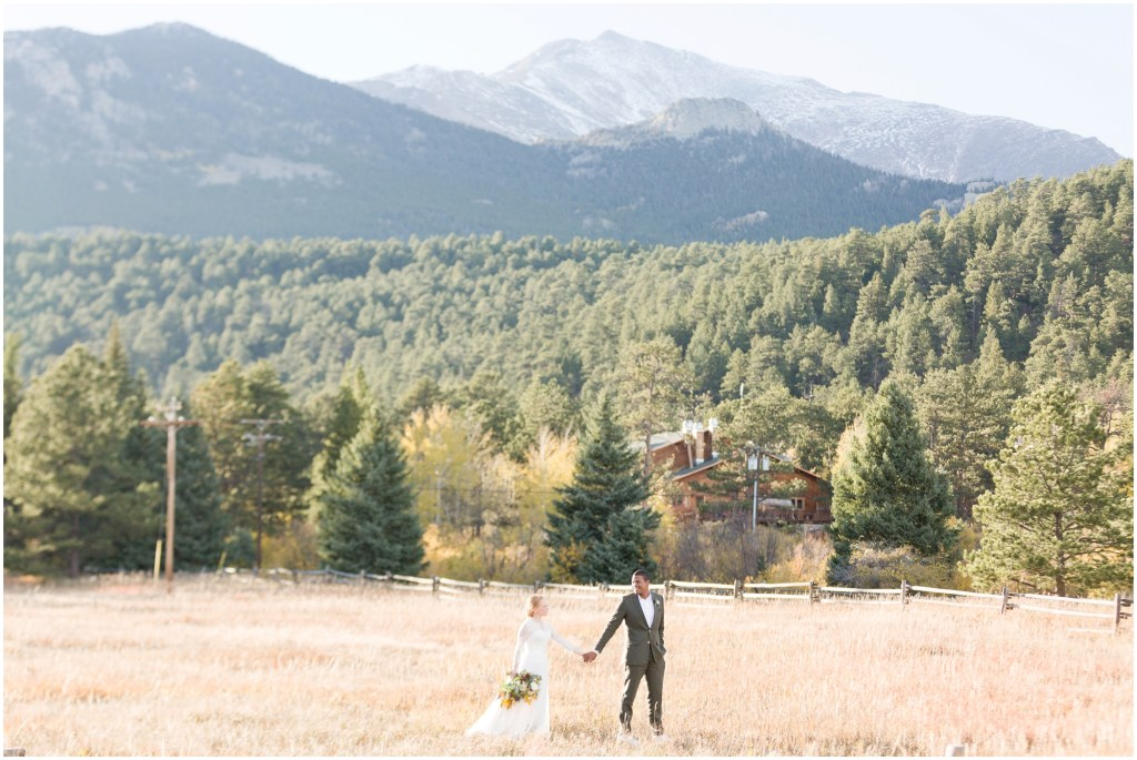 Allenspark Colorado Wedding