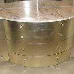 Photo of Aluminum Gilded Furniture.