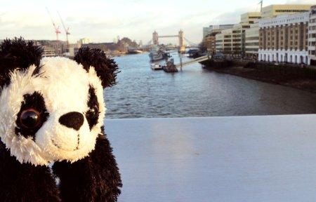 Benji on London Bridge