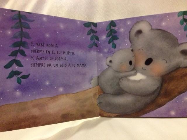 Mamá y bebe koala