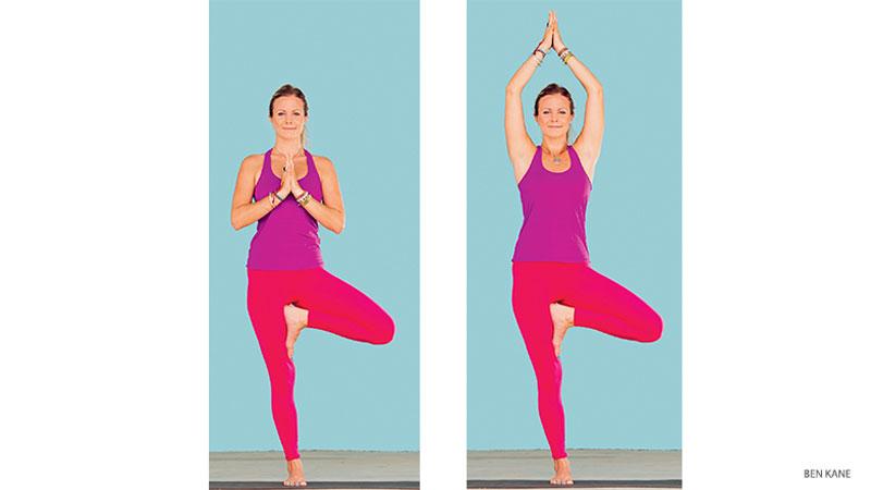 Vrksasana Yoga_Girl