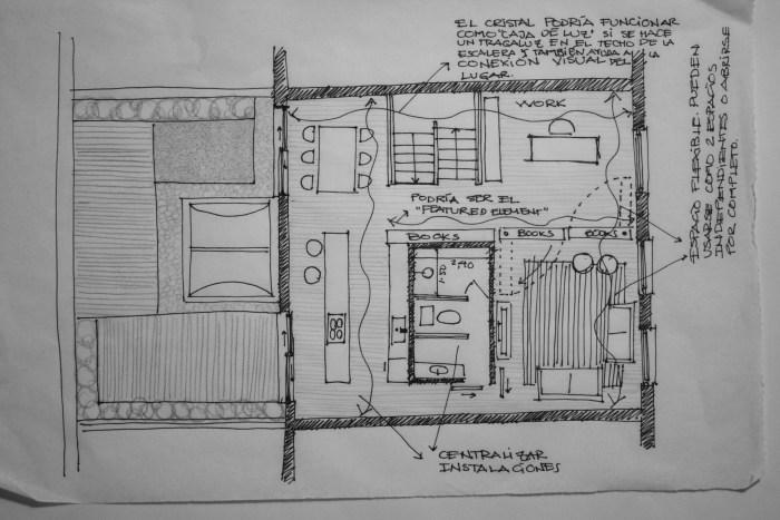London sketch 1. Propuesta para Aniorte.