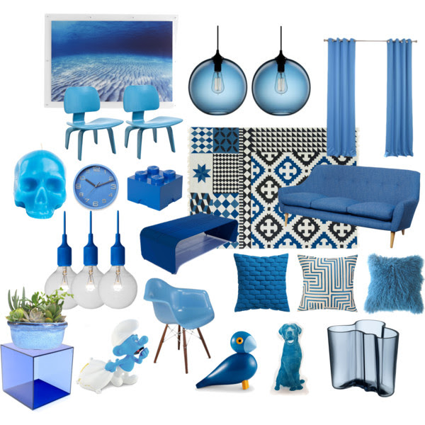 totally blue