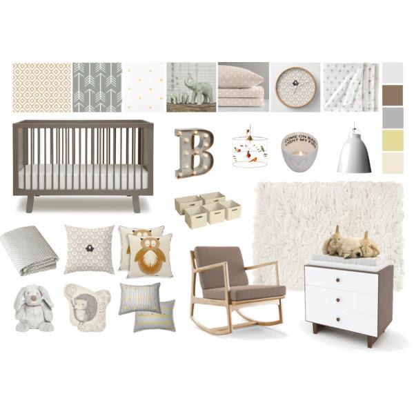 unisex baby bedroom