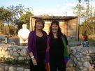 María Juliana y la escritora Anamaria Mayol