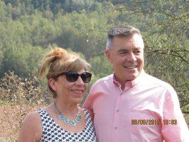 Annabel Villar and Julio Pavannetti