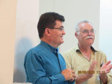 Mesut Senol and Peter Voelker