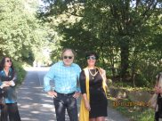 Mayor Roland Kern and BiseraSuljic-Boskailo