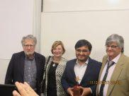 Antonio Cillóniz, Rocío Cardoso, Roy Alfonso Vega y Alfredo Villegas Oromí.