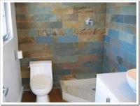 Slate or Porcelain Tile in the Bathroom?