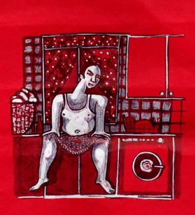Hombre En La Cocina - 2003 (100€)