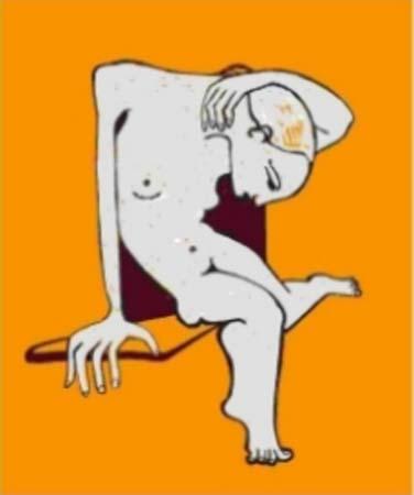 Nude On Yellow - -2000's (100€)