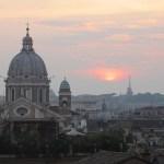 sunset rome italy 1