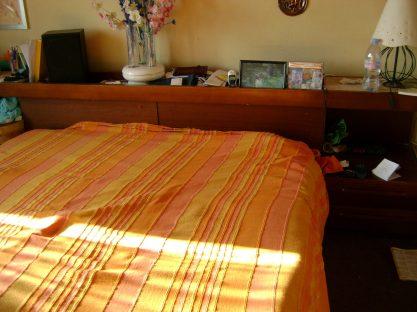 Il letto prima